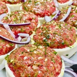 Garlic Steak patty