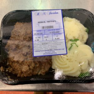 mince and tatties ready meal